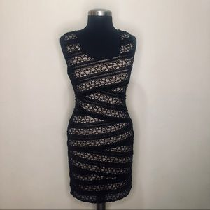 Max Edition Black Lace Dress Size S